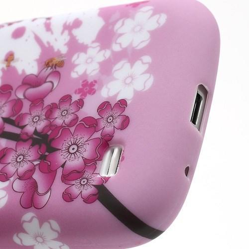 Силиконовый чехол для Samsung Galaxy S4 mini Flowers