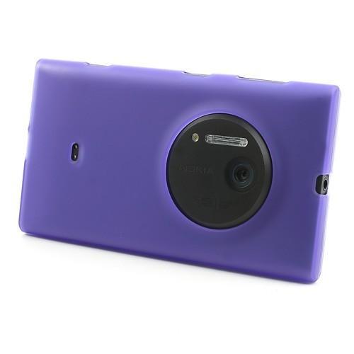 Силиконовый чехол для Nokia Lumia 1020 фиолетовый