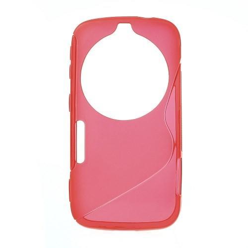 Силиконовый чехол для Samsung Galaxy K Zoom красный