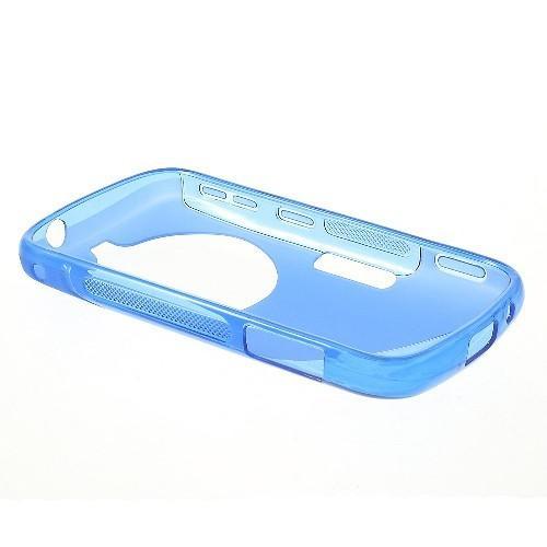 Силиконовый чехол для Samsung Galaxy K Zoom синий