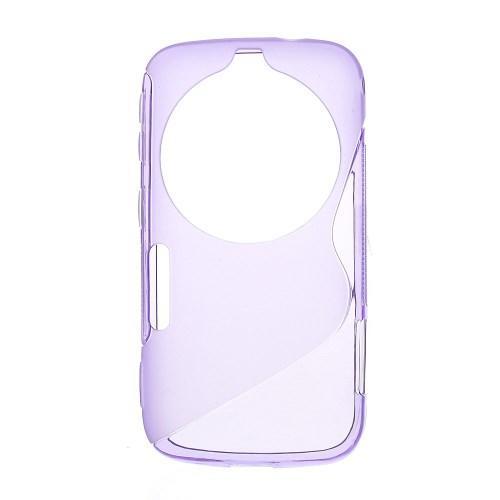 Силиконовый чехол для Samsung Galaxy K Zoom фиолетовый