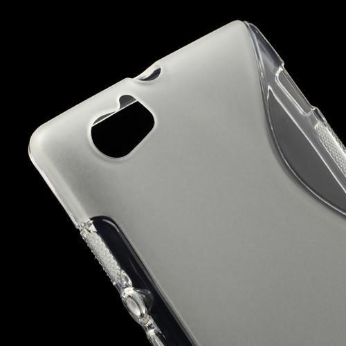 Силиконовый чехол для Sony Xperia M прозрачный