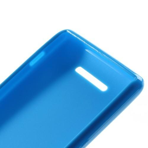 Силиконовый чехол для Sony Xperia M голубой