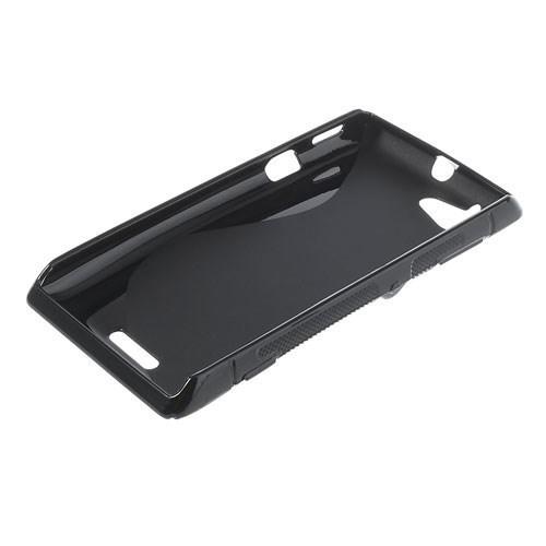 Силиконовый чехол для Sony Xperia L черный