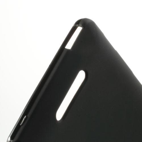 Силиконовый чехол для Sony Xperia C черный