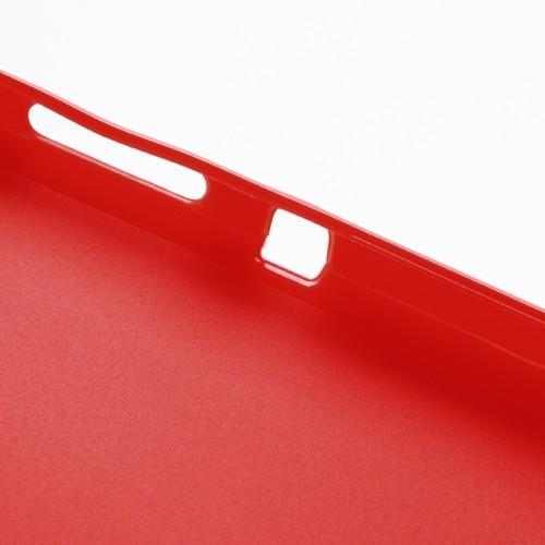 Силиконовый чехол для Sony Xperia SP красный матовый