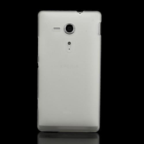 Силиконовый чехол для Sony Xperia SP белый