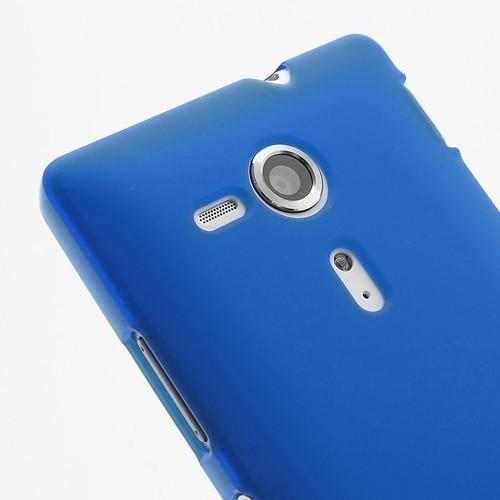 Силиконовый чехол для Sony Xperia SP синий