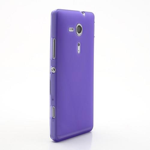 Силиконовый чехол для Sony Xperia SP фиолетовый