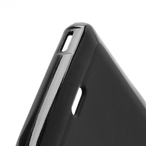 Силиконовый чехол для Sony Xperia ZR черный