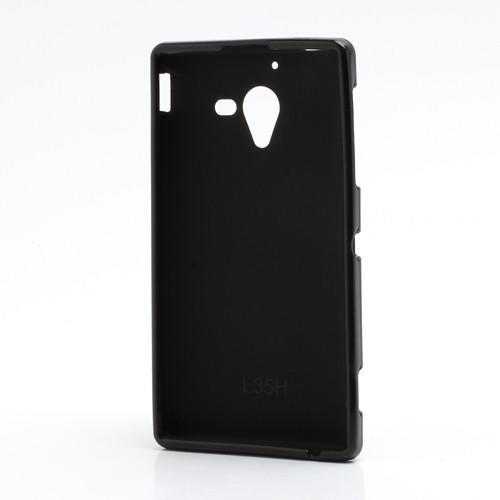 Силиконовый чехол для Sony Xperia ZL черный