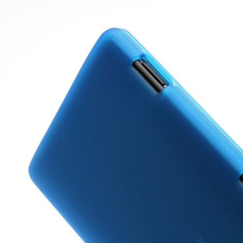Силиконовый чехол для Sony Xperia ZL голубой