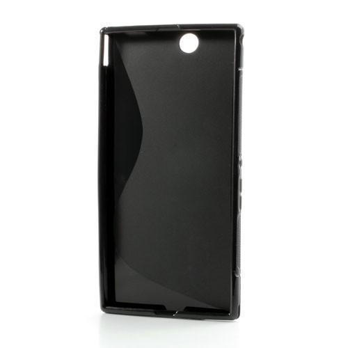 Силиконовый чехол для Sony Xperia Z Ultra черный