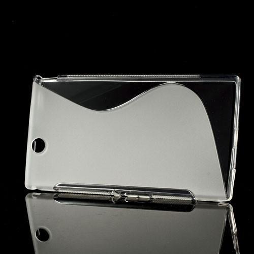 Силиконовый чехол для Sony Xperia Z Ultra прозрачный