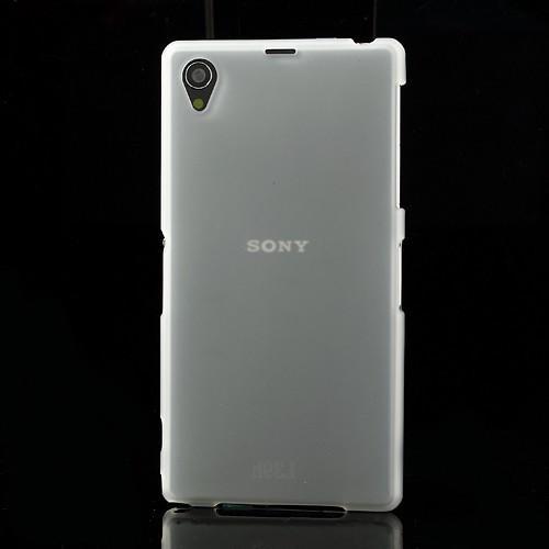 Силиконовый чехол для Sony Xperia Z1 белый