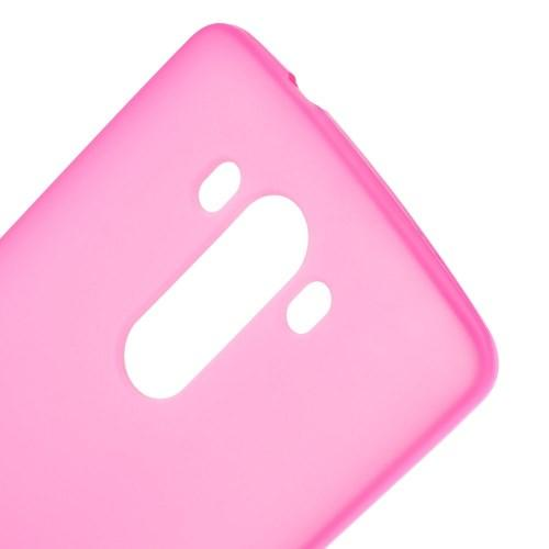 Силиконовый чехол для LG G3 розовый