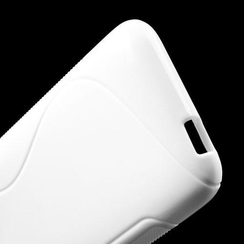 Силиконовый чехол для HTC Desire 601 белый