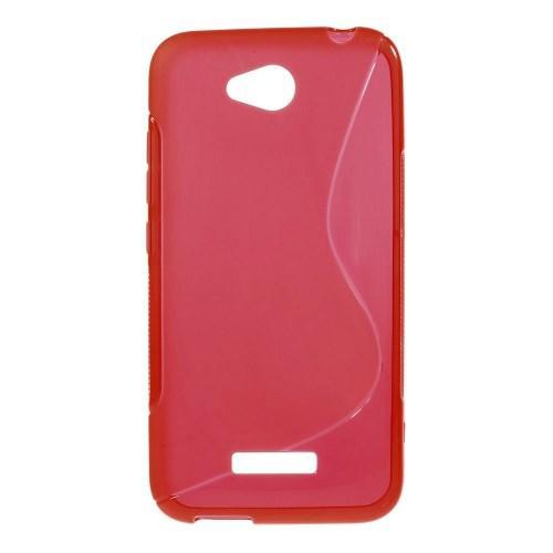 Силиконовый чехол для HTC Desire 616 красный