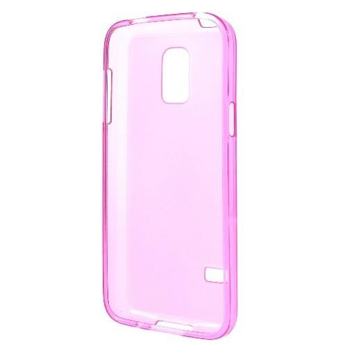 Силиконовый чехол для Samsung Galaxy S5 mini розовый