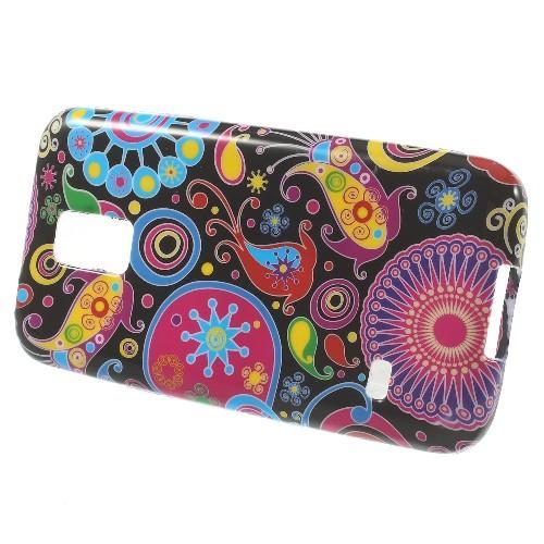 Силиконовый чехол для Samsung Galaxy S5 mini Colorful Pattern
