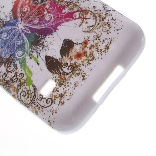 Силиконовый чехол для Samsung Galaxy S5 mini Colorful Butterflies