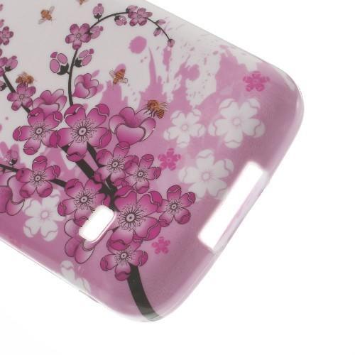 Силиконовый чехол для Samsung Galaxy S5 mini Sakura