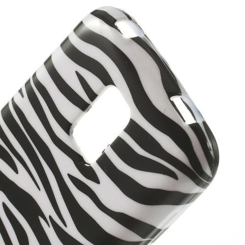 Силиконовый чехол для Samsung Galaxy S5 mini Zebra Stripes