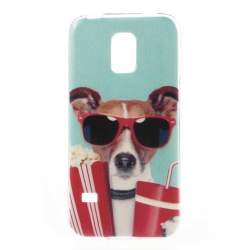 Силиконовый чехол для Samsung Galaxy S5 mini COOL DOG