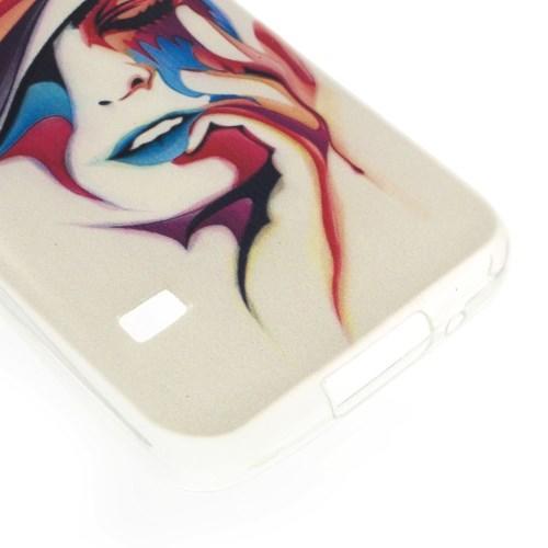 Силиконовый чехол для Samsung Galaxy S5 mini COLOR WOMAN