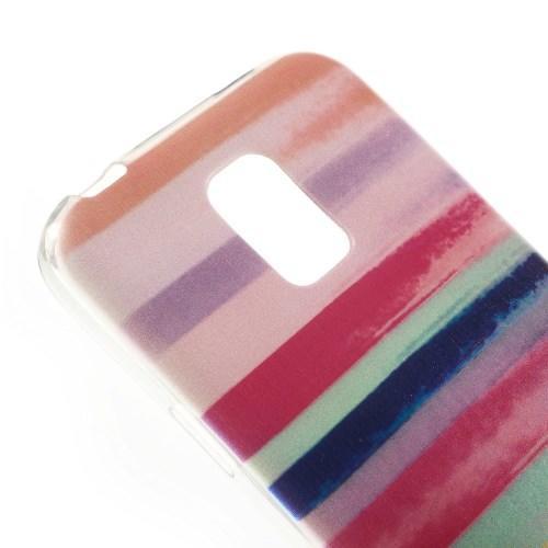Силиконовый чехол для Samsung Galaxy S5 mini COLOR STRIPES