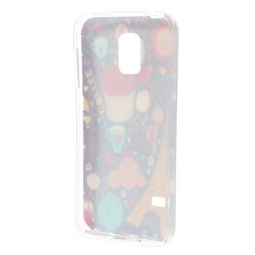 Силиконовый чехол для Samsung Galaxy S5 mini PARIS