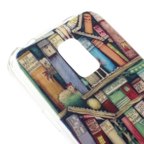 Силиконовый чехол для Samsung Galaxy S5 mini BOOK WORLD
