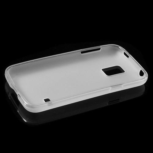 Силиконовый чехол для Samsung Galaxy S5 mini белый