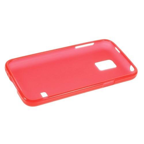 Силиконовый чехол для Samsung Galaxy S5 mini красный