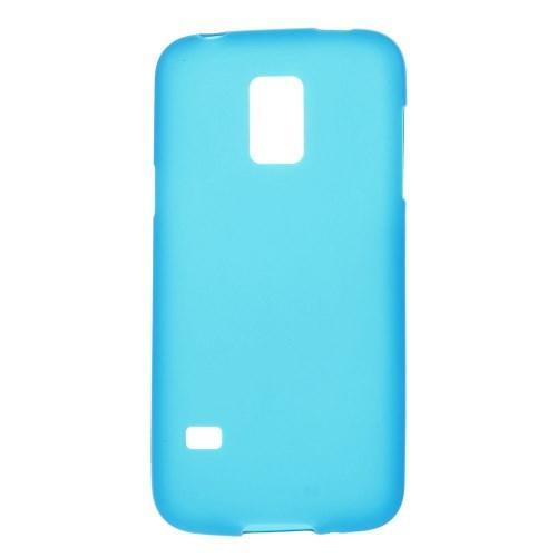 Силиконовый чехол для Samsung Galaxy S5 mini голубой
