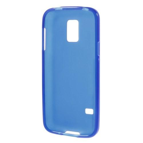 Силиконовый чехол для Samsung Galaxy S5 mini синий