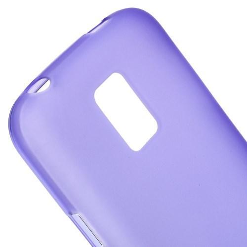 Силиконовый чехол для Samsung Galaxy S5 mini фиолетовый