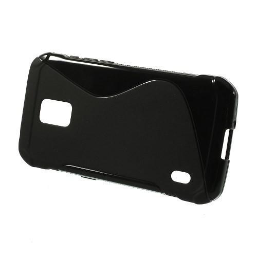 Силиконовый чехол для Samsung Galaxy S5 Active черный