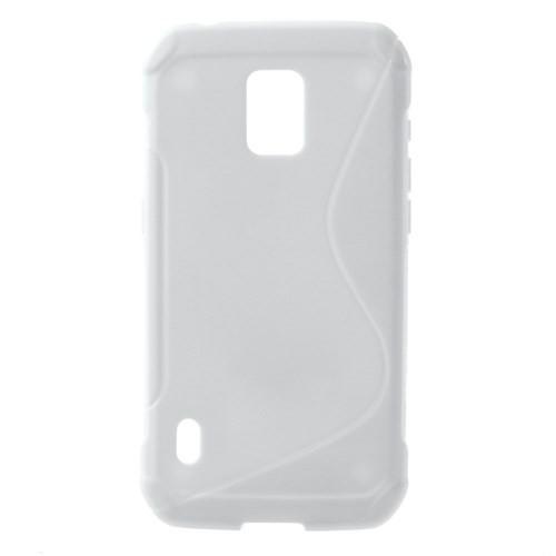 Силиконовый чехол для Samsung Galaxy S5 Active белый