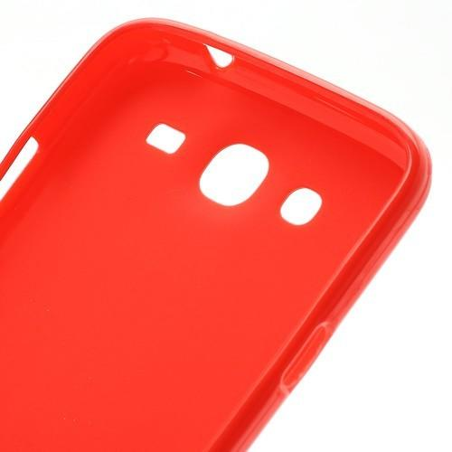 Силиконовый чехол для Samsung Galaxy Mega 5.8 красный