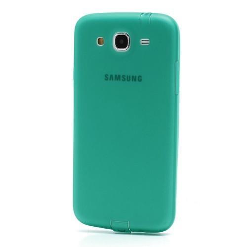 Силиконовый чехол для Samsung Galaxy Mega 5.8 зеленый