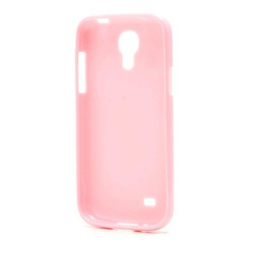 Силиконовый чехол для Samsung Galaxy S4 mini нежно розовый