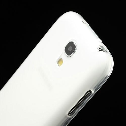 Силиконовый чехол для Samsung Galaxy S4 mini белый