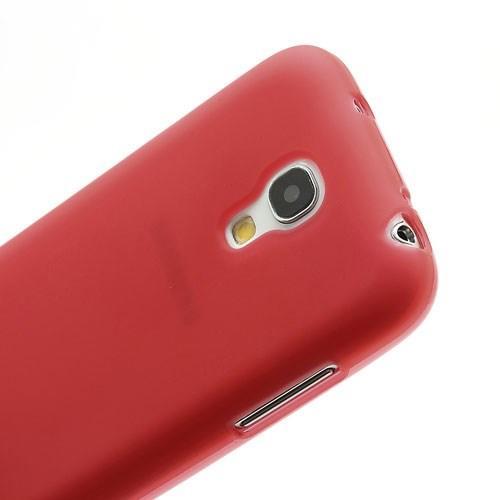 Силиконовый чехол для Samsung Galaxy S4 mini красный