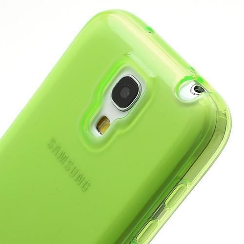 Силиконовый чехол для Samsung Galaxy S4 mini салатовый