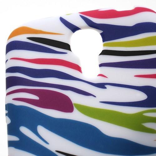 Силиконовый чехол для Samsung Galaxy S4 mini Zebra
