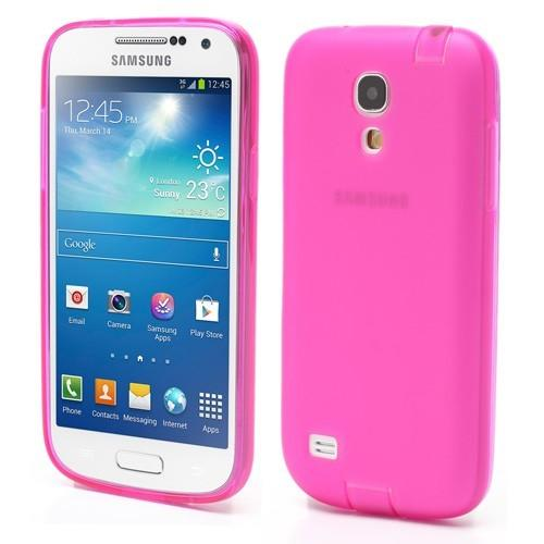 Силиконовый чехол для Samsung Galaxy S4 mini розовый