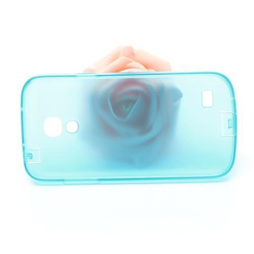 Силиконовый чехол для Samsung Galaxy S4 mini голубой