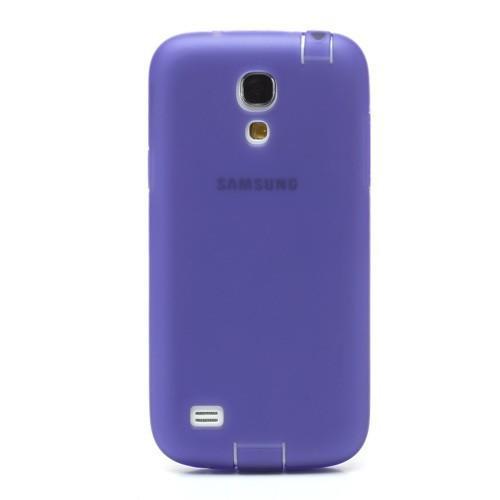 Силиконовый чехол для Samsung Galaxy S4 mini фиолетовый