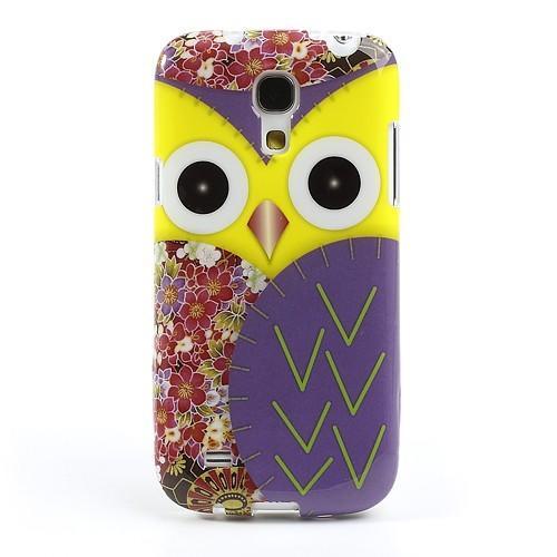 Силиконовый чехол для Samsung Galaxy S4 mini Owl Yellow